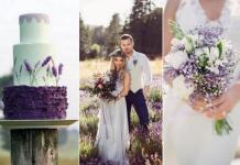a6120934a7 Lawendowy ślub – ślubne inspiracje  GALERIA