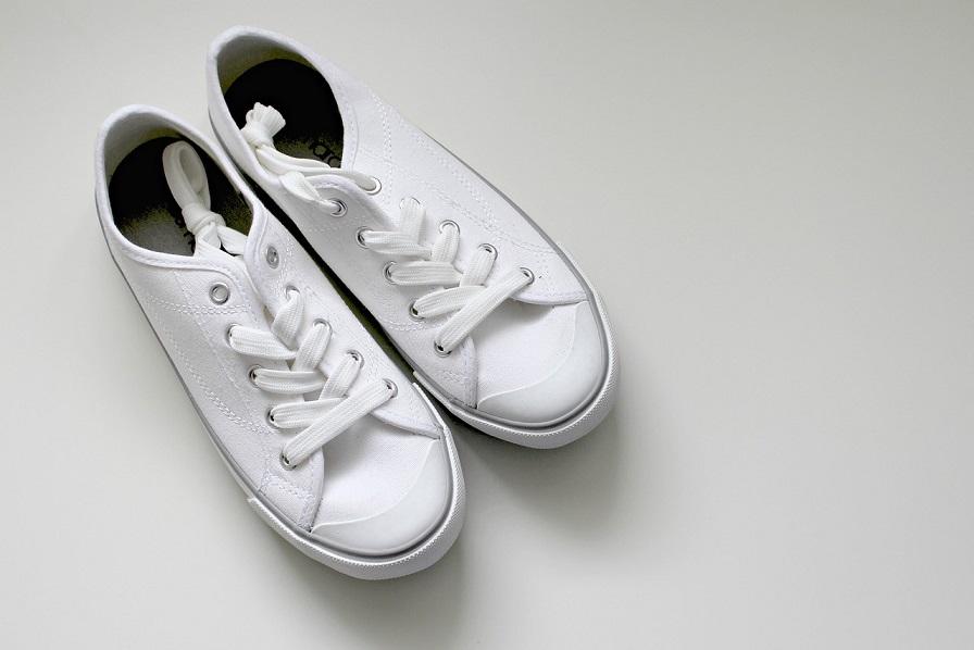 białe adidasy za kostkę stylowo i modnie z Allani
