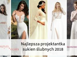 197fbaa84c Najlepsza projektantka sukien ślubnych 2018  GŁOSOWANIE
