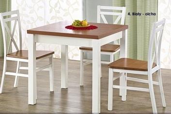 Kwadratowy stół rozkładany
