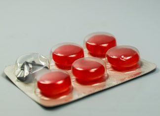 Tabletki na gardło