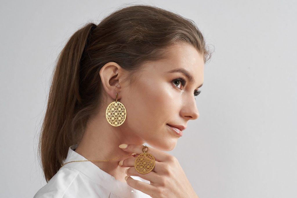 Komplet  biżuterii Artseko - model Elpis