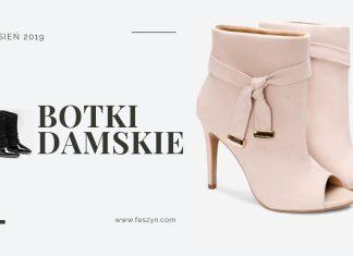 botki damskie jesień 2019