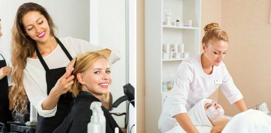 salon fryzjerski, salon kosmetyczny