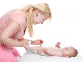 Biegunka u niemowląt