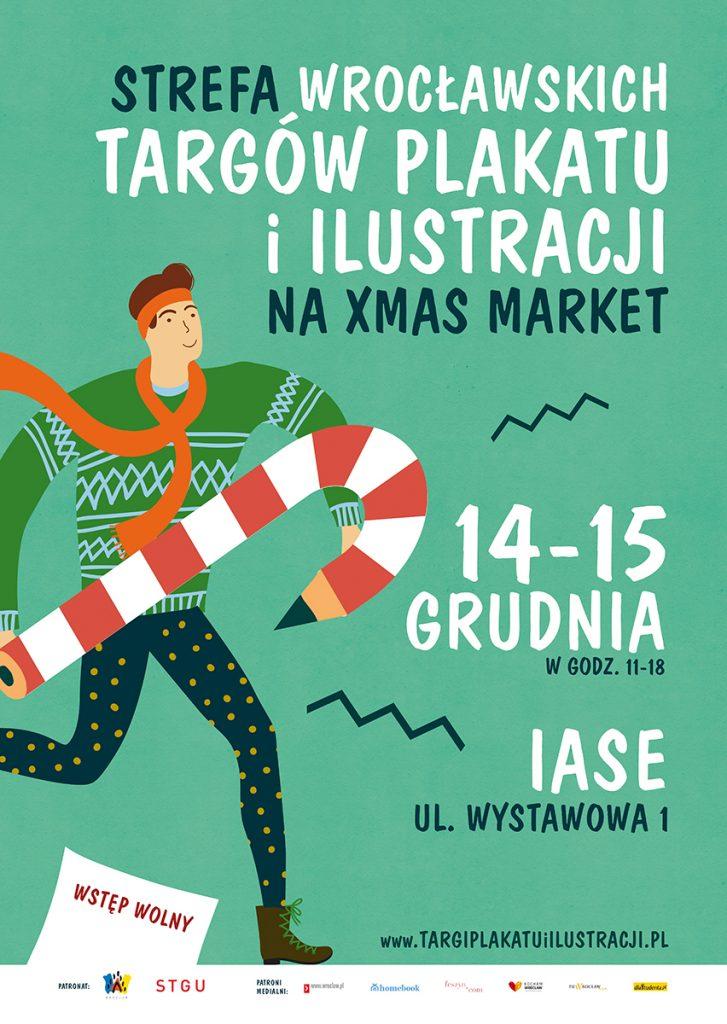 Strefa Targów Plakatu i Ilustracji na Xmas Market