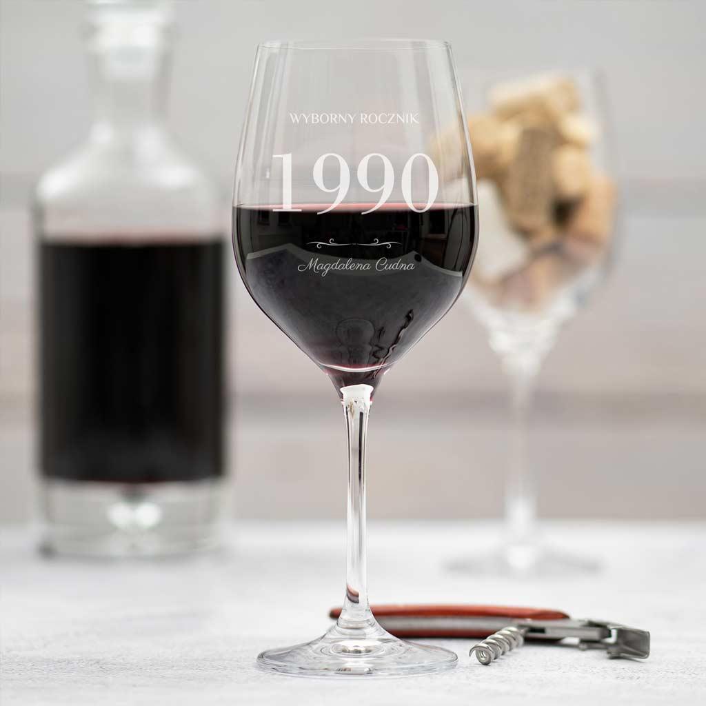 kieliszek do wina – wyborny rocznik