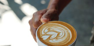 Mleczna kawa