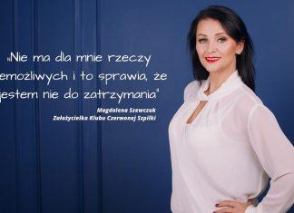 Magdalena Szewczuk -Klub Czerwona Szpilka