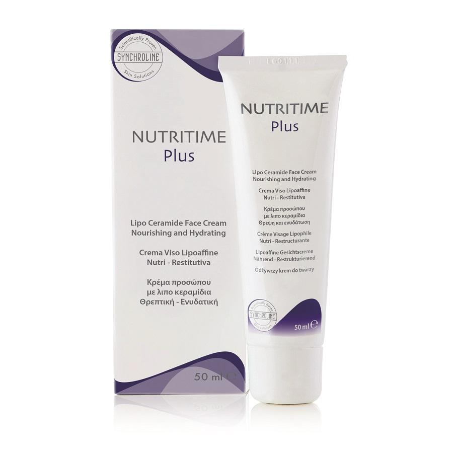 Fot: Odżywczy krem do twarzy Nutritime Plus, Synchroline, cena 52 zł, www.dermakrem.pl