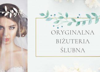 Nowoczesna biżuteria do sukni ślubnej