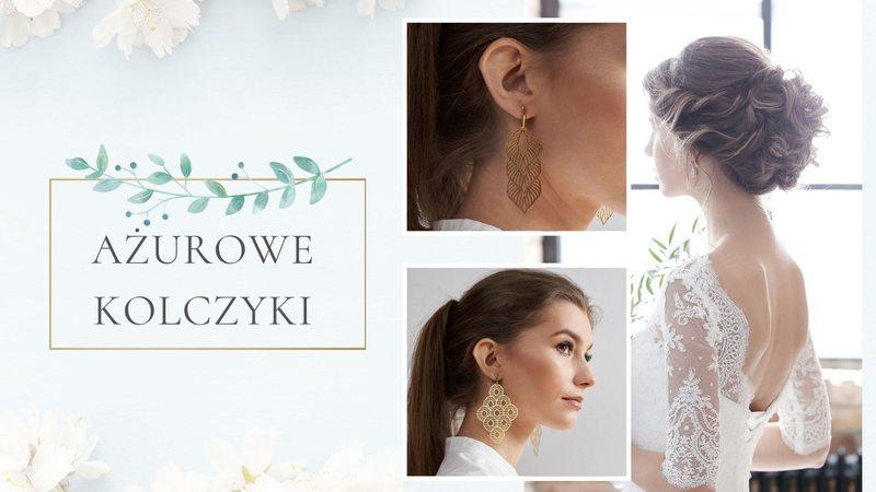Nowoczesna biżuteria ślubna