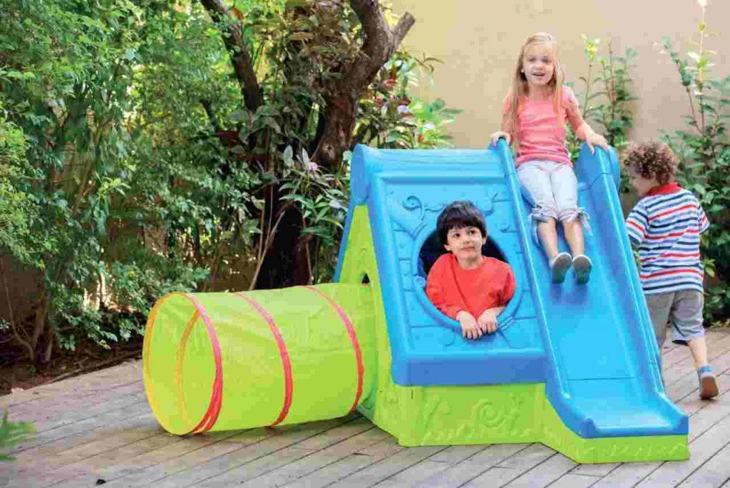Dziecięce wyposażenie ogrodu