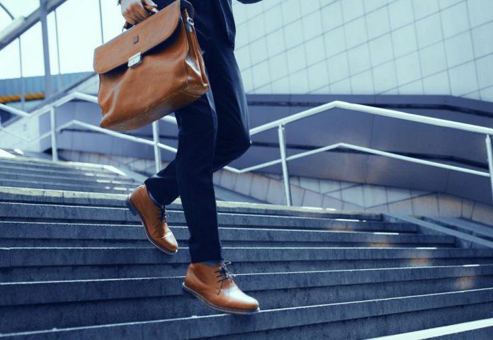 Brązowe pantofle