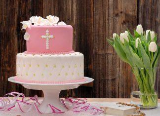 tort na komunię