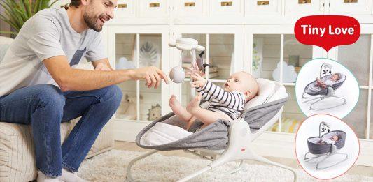 Leżaczek dla niemowlaka
