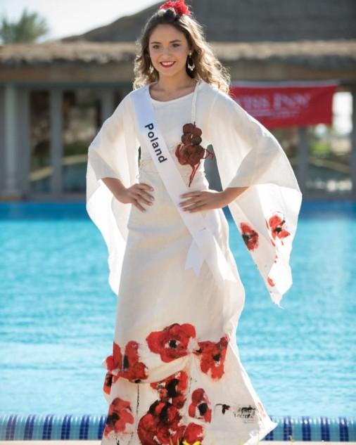 Wiktoria Karkosz w projekcie Estery Grabarczyk  na finał Miss Eco Teen