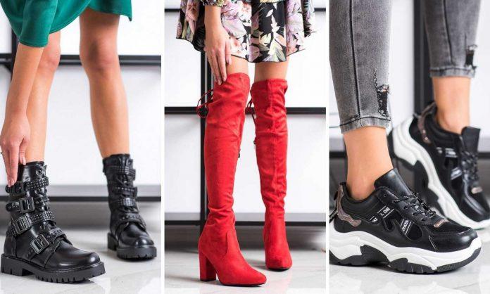 buty na jesień 2020