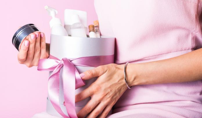 kosmetyki na prezent dla żony