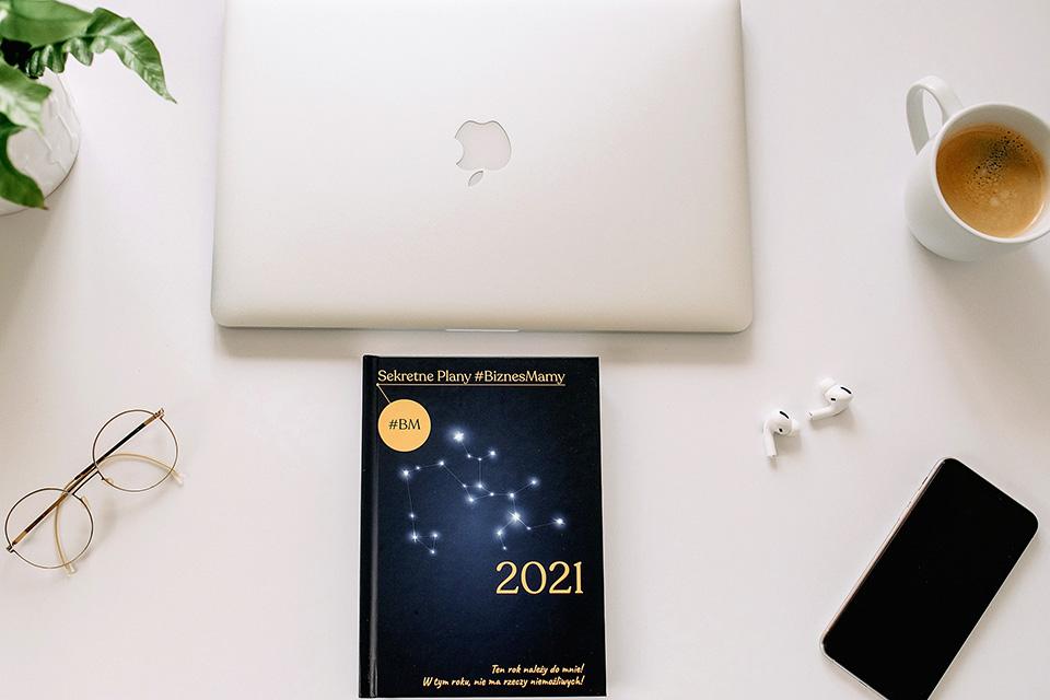 Kalendarz na 2021 rok - Sekretne Plany #BiznesMamy