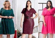 polskie sukienki w rozmiarze plus size