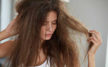 zniszczone włosy