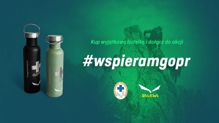 Wyjątkowe butelki wspierające GOPR (2)