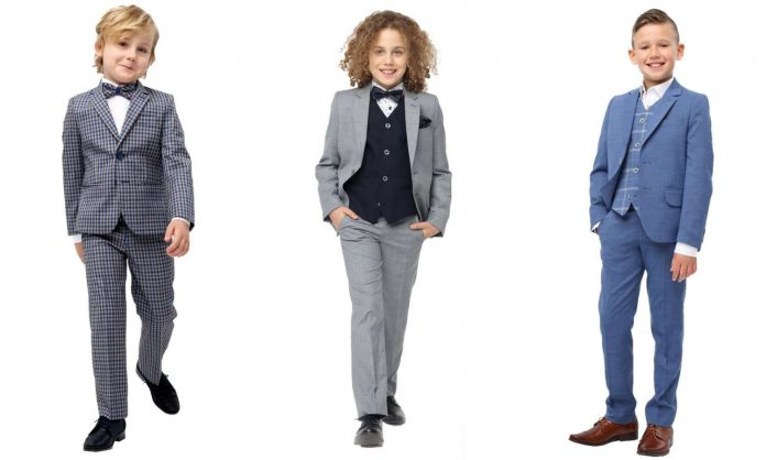 garnitury dla chłopca
