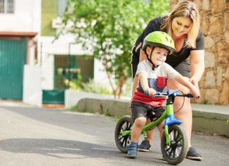 Pierwszy rowerek dla dziecka