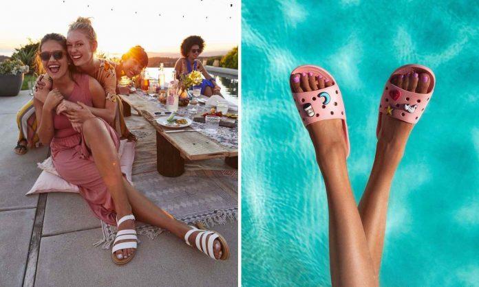 Superlekkie sandały na lato