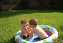 Basen do ogrodu dla dziecka